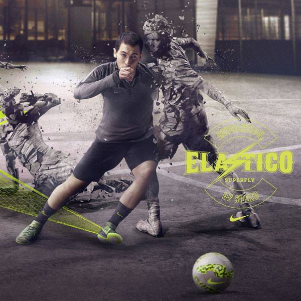 Nike Football | Elastico Superfly Make 'Em Statues feat. Eden Hazard
