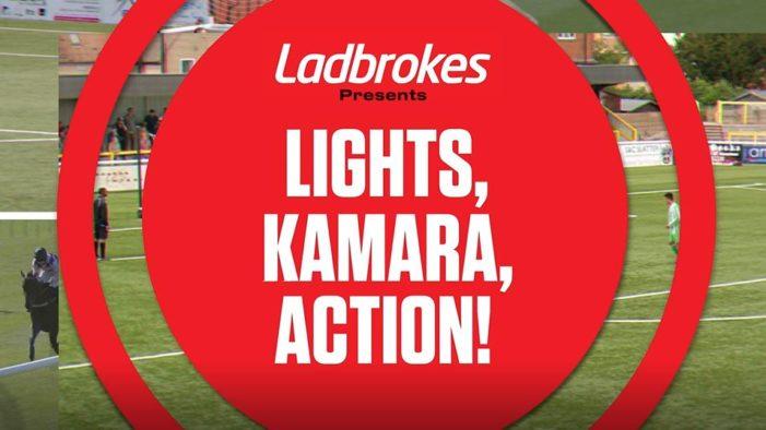 Ladbrokes | Lights, Kamara, Action! Celebration