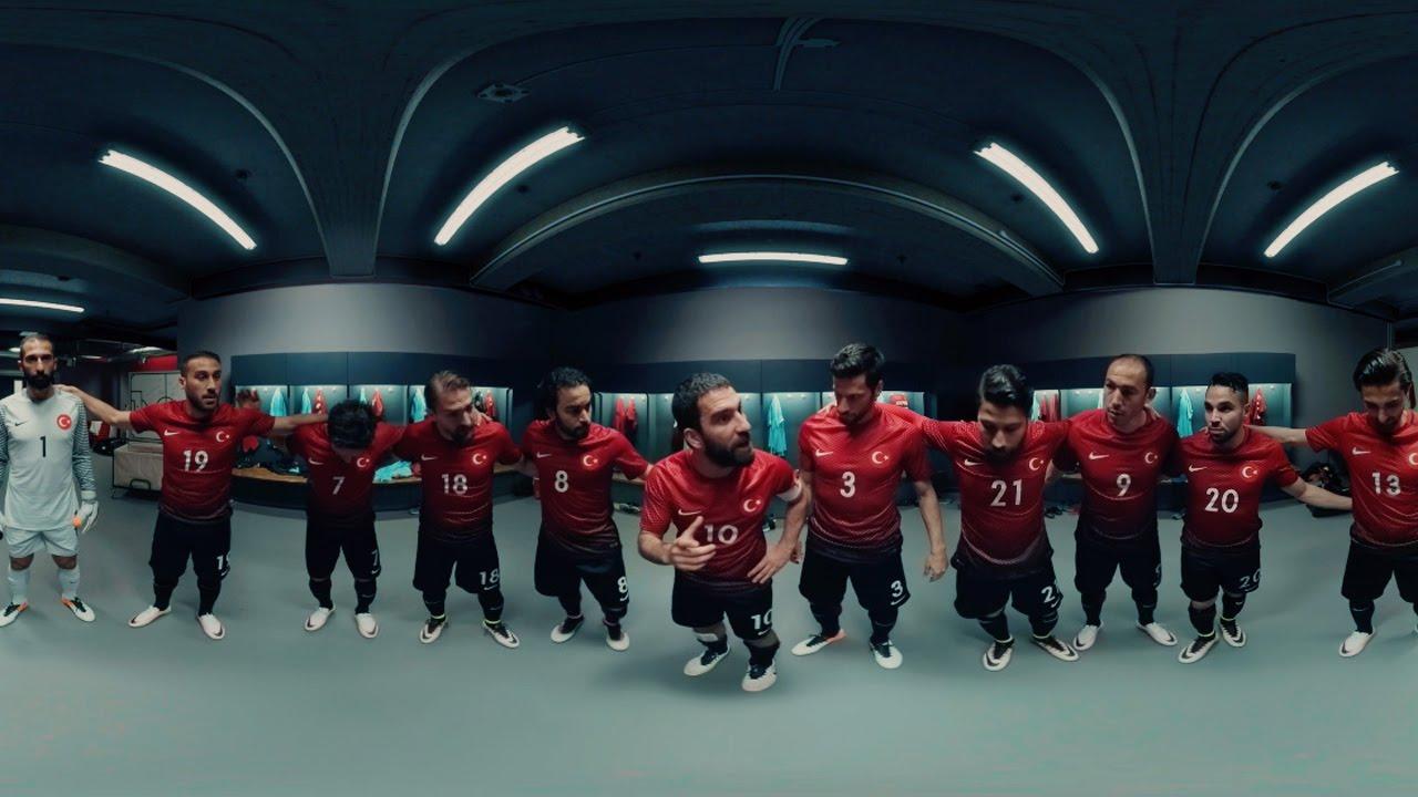 Nike Football | Spark Brilliance- Turkey Half-Time Speech (360)